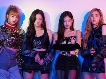 Negru roz - Kpop BlackPink YG YG Entertainment Jennie Rose Jisoo Lisa