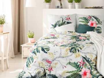 в спалнята - красива флорална спалня в спалнята