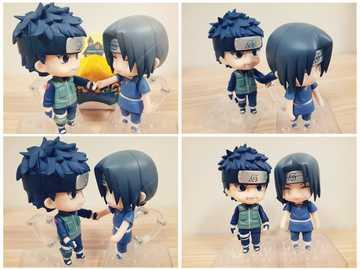 Shisui och Itachi - Itachi och Shisui, hans bästa vän
