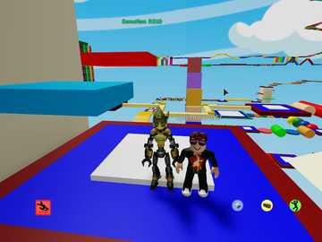jogo roblox - eu e meu amigo jogando roblox