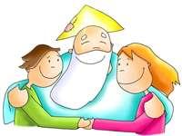 Papai deus - É a nossa relação com o Pai perfeito, aquele que mais nos ama e cuida de nós.