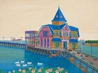 seascape - Aviko Szabo, Argentine naive painter