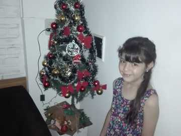Não sei o que é mas coloquei minha foto de natal - Hueno que você gosta