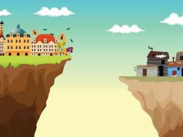 неравенство - бездна пролука от едната страна до другата