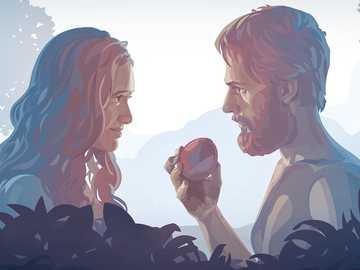 De erfzonde - De zonde kwam de wereld binnen via Eva en Adam en herhaalt zich van generatie op generatie.