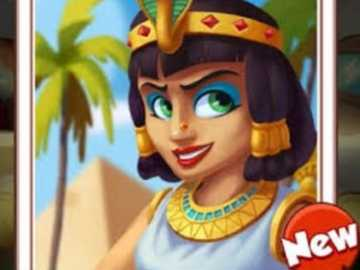 Cleopatra - Coin master game card