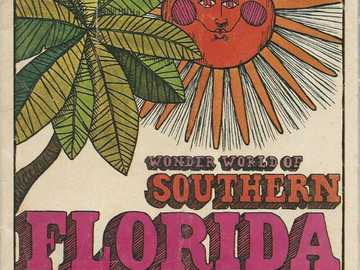 Sunshine Florida - This Is A Photo Of A Travel Brochure From The Year 1966.