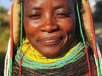 kvinna - angola