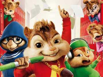 Alvin a chipmunkové - m ......................