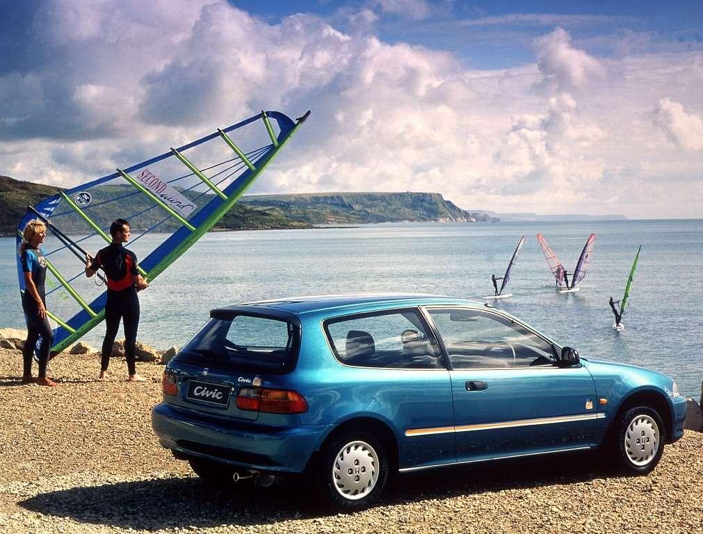 1994 Honda Civic Bali puzzle