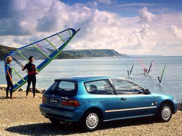 1994 Honda Civic Bali - This Is A Photo Of A Hatchback.