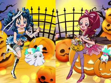 Heartcatch Precure Halloween - Fröhliches Halloween, ob Sie es dieses Jahr feiern oder nicht! Wenn ja, stellen Sie sicher, dass Si