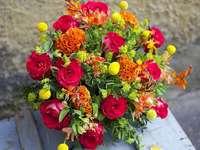 het boeket bloemen
