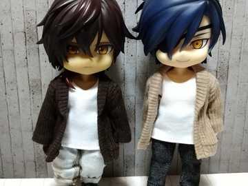 Ookurikara och Mitsutada - Ookurikara och Mitsutada, två goda vänner