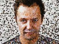vikmuniz - artist portrait with recyclable items