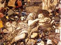 vikmuniz - works with recyclable materials