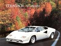 Lamborghini Countach - Ceci est une photo d'une supercar des années 1980.