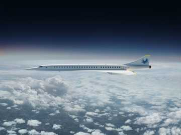 Boom Supersonic - This Is A Photo Of A Airliner.