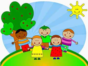 Children's Day - All children are equal and have the same rights.