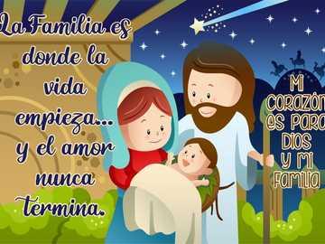 Familia Iisus - Dragostea lui Dumnezeu în familie