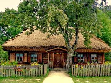 wooden house in Podlasie - m ............................