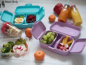 śniadanie dla dziecka do szkoły - m............................
