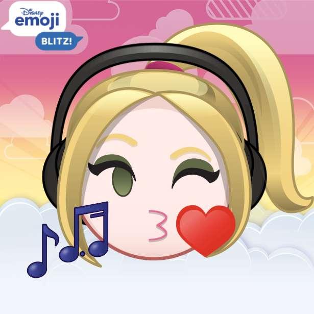 Det här är min Emoji när jag lyssnar på musik online pussel