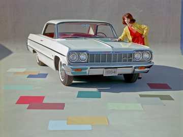 1964 Chevrolet Impala Sport Coupe - Questa è una foto di un'auto americana classica