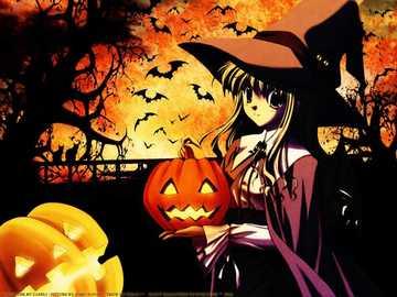 Hallowen - como estamos no tempo do halloween, ocorreu-me carregar este quebra-cabeça
