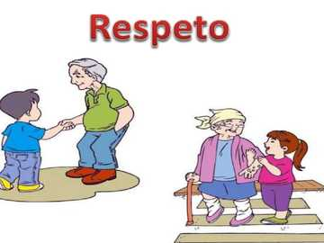 Respect - OVERWEGING DAT IETS WAARD IS EN MOET WORDEN TOEGEKEND, ALS PERSOON OF IETS WORDT BEHANDELD DOOR ENIG