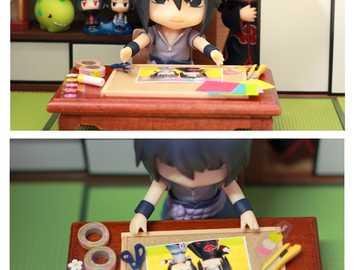 Sasuke comemora o aniversário de Itachi - Sasuke comemora o aniversário de Itachi
