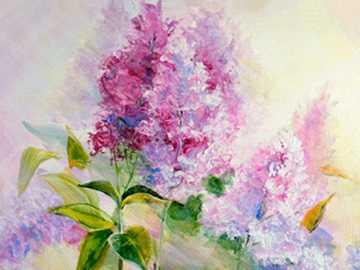 lilas pictóricas - lilas o lilas en pintura