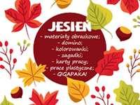 folhas de outono - folhas de outono com texto