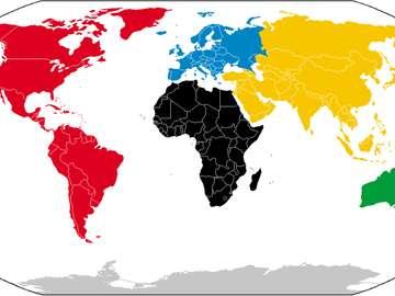 Poloha kontinentů a oceánů - Musím dát alespoň 20 znaků, proto píšu