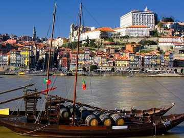Portugal-Port-Duero-Fluss - m .......................
