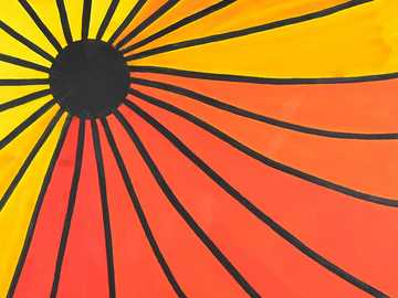 I raggi del sole - Questa è una foto dei raggi del sole