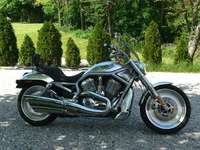 Harley Davidson V-Rod - This Is A Photo Of A Motorcycle