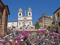 Treptele Spaniole la Roma - Treptele Spaniole la Roma