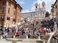 Escadaria Espanhola em Roma - Escadaria Espanhola em Roma