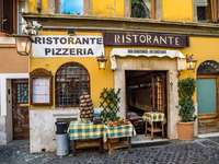 Пицария в стария град в Рим
