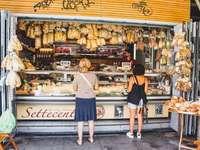 Nakupujte ve starém městě Říma