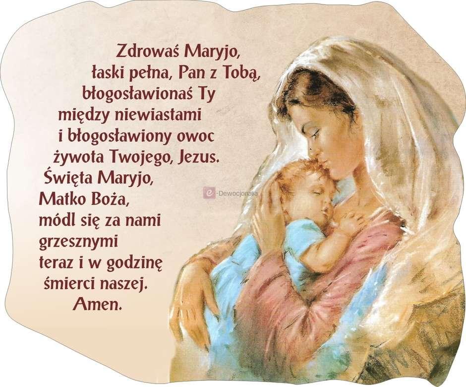 Προσευχή χαιρετισμού Mary (4×4)