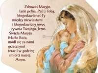 Modlitwa Zdrowaś Maryjo