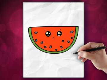 Hawaii watermelon - A very sweet watermelon gives pleasure to other participants