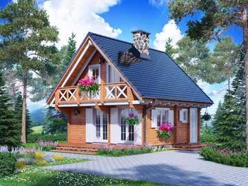 casa de madeira na espanha - m ...................