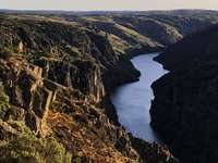 Arribes del Duero - View of the Arribes del Duero, Zamora, Spain