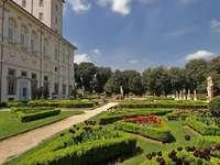 Giardino di Villa Borghese a Roma
