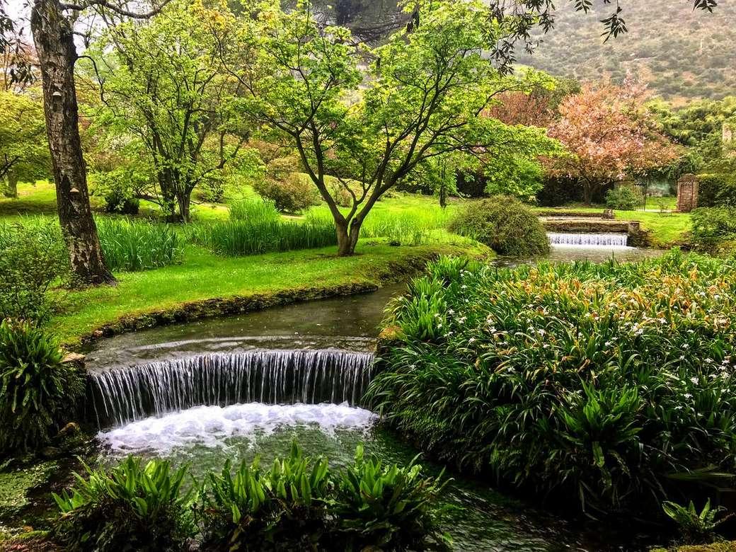 Красива градина в Рим онлайн пъзел