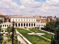 Вила Албани с градини Рим