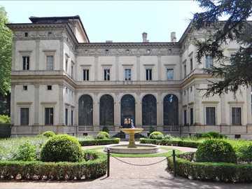 Villa Chigi con jardín en Roma - Villa Chigi con jardín en Roma